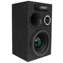 Caixa de Som Residencial Bob Portátil Bivolt Magnum 400W 12'' + Módulo + Fonte + MP3 Player Pionner - Kit Som E Vídeo