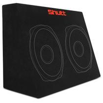 Caixa de Som Selada 7 Litros Furo Para 2 Alto Falantes 6x9 Polegadas Preto MDF ou AGL Shutt -