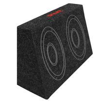 Caixa de Som Shutt para 2 Alto Falantes 6x9 7 Litros Selada Carpete Grafite -