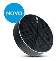 Caixa de som speaker estereo metalico bluetooth elsys- cinza -