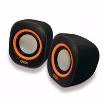 Caixa De Som Speaker Round Branca Oex Sk100 -