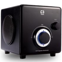 Caixa De Som Subwoofer 2.1 Bluetooth Preto Sp-330b C3 Tech