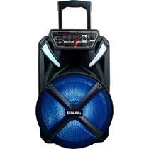 Caixa de Som Sumay 600w Bluetooth 1 Microfone Cont Sm-cap22 -