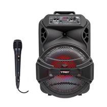 Caixa de Som TRC Amplificada Bluetooth USB 290W LED - TRC 5529 - Trc Sound