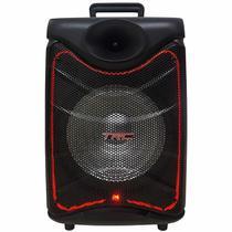 """Caixa de Som TRC Ativa 08"""" 190W TRC 517 Microfone com fio -"""