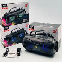 Caixa de Som Wireless Pulse Bluetooth Portátil MF-208 - M@F
