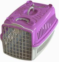 Caixa de Transporte Mais Dog N.04 Rosa -