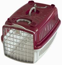 Caixa de Transporte Mais Dog N.04 Vinho -