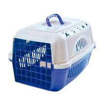 Caixa De Transporte Para Cães E Gatos Durapets Falcon N.1 Azul -
