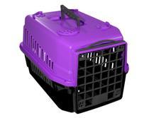 Caixa de Transporte para PET Gato Cachorro Número 1 Lilás - Mecpet