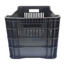 Caixa Elastobor Plastica Horti-frutti 38 Litros Preta -