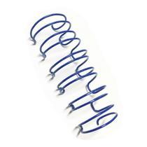 Caixa Espiral Garra Duplo Anel Wire-o 2x1 Ofício 7/8 180 Fls - Lassane