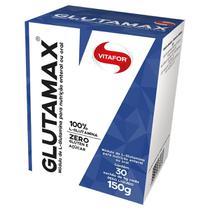 Caixa Glutamax 150g 100% L-glutamina 30 Sachês - Vitafor -