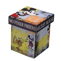 Caixa Grande Mickey - 22 x 22 cm - Colors - Mabruk -
