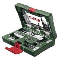 Caixa Jogo Kits Maleta De Ferramentas Brocas Bits + Soquetes - Bosch