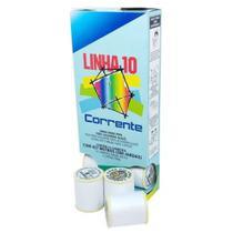 Caixa Linha 10 Pipa Branca 500 Jardas c/ 12 Unidades - Coats Corrente -