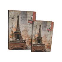 Caixa Livro com e Peças Eiffel Metro - Goods br