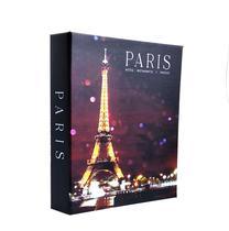 Caixa Livro Decorativa Média 24x17x4cm - Paris - Sarita Box