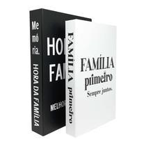 Caixa Livro Decorativo Massa - PandaBay