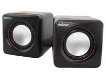 Caixa Mini de Som 2.0 USB CS-39 - Exbom
