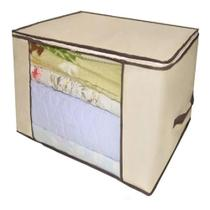 Caixa organizador guarda roupa flexivel com ziper multiuso compact armario chao closets dobravel - Makeda