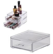 Caixa Organizador Modelo Gaveta Empilhável De Acrílico Elegance 12,5x11x5cm - Paramount