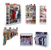 Caixa Organizador Prateleiras Roupas Brinquedos Loja Closet - Magia Móveis