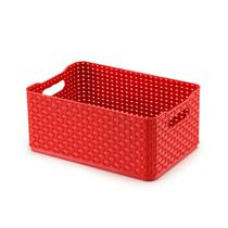 Caixa organizadora 4,5L vermelho Rattan 03 Arthi -