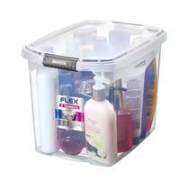 Caixa Organizadora Cristal Flex Média 31,8X22,8X23,1Cm 11L- SANREMO -