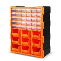 Caixa organizadora de plastico 18 gavetas gaveteiro organizador porta ferramentas multiuso kangur -