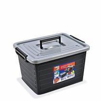 Caixa Organizadora Plástica Com Tampa Arqplast 30 Litros -