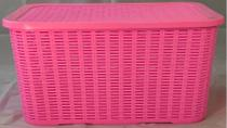 Caixa Organizadora Ratan 48 Litros Plástico Multiuso - Agraplast