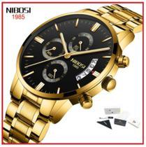 caixa original Relógio NIBOSI Masculino -