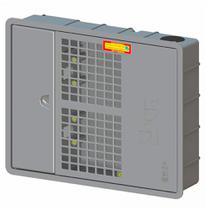 Caixa padrão sabesp  1 ou 2 hidrômetros relógio de água doal -