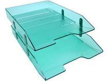 Caixa para correspondencia Acrimet 243 5 dupla articulada cor verde clear -