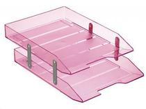 Caixa para correspondencia Acrimet 243 8 dupla articulada cor rosa claro -