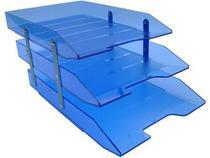 Caixa para correspondencia Acrimet 245 2 tripla articulada azul -