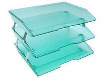 Caixa para correspondencia Acrimet 255 5 tripla faciliti lateral verde clear -