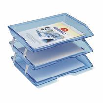 Caixa para Correspondencia Acrimet Facitily Tripla Azul 255 23897 -