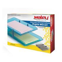 Caixa para Correspondência Dupla Móvel Waleu Azul -