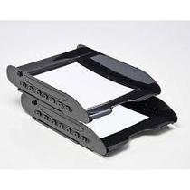 Caixa para correspondencia Super X 284 4 dupla articulada preta -