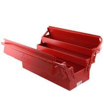 Caixa para Ferramentas Sanfonada c/ 5 Gavetas 50 CM Vermelha FERCAR -