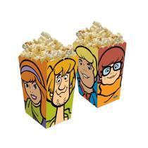 Caixa para Pipoca Scooby Doo 08 unidades Festcolor - Festabox