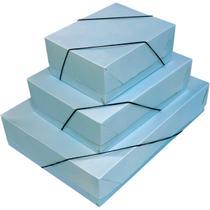 Caixa para Presente com Tampa GD (25,5X35X7,5) Pastel C/ELAS PCT com 12 - Gna