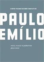CAIXA PAULO EMILIO - JEAN VIGO / VIGO, VULGO ALMEREYDA (2 LIVROS + 2 DVDs) - Edições Sesc -