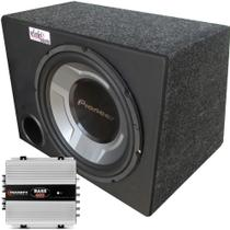 Caixa Pioneer Subwoofer Ts-W3060br + Módulo Taramps - Vinisound +