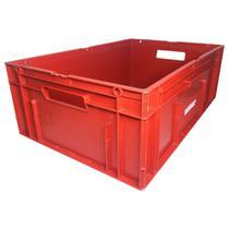 Caixa Plastica Elastobor Industrial 39 Litros Vermelha -
