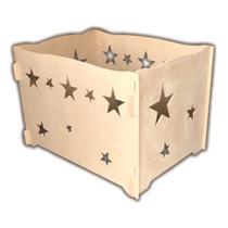 Caixa Porta Presentes Estrela Em Mdf Provençal Para Decoração Festas - Jjveras