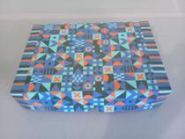 Caixa Quadrada Geométrica 250g - Stephannieprint