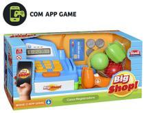 Caixa Registradora Big Shop c/ Aplicativo Som e Luz- 138820 - Usual plastic -
